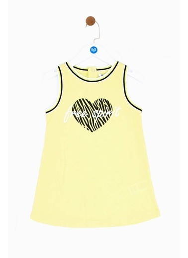 Riccione Riccione Kız Bebek Sarı Elbise 19SS0RR2901 Sarı